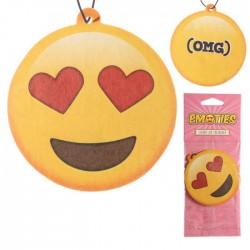 Désodorisant Smiley Coeurs Cerise