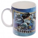 Mug Selfie Animaux de la Mer