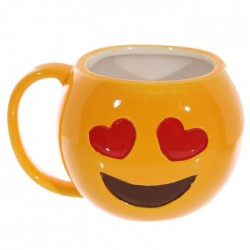 Mug Emoticône Coeurs