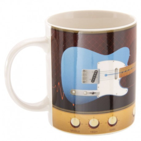 Mug Guitare Bleu