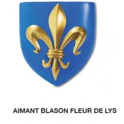 Magnet Aimant Blason Fleur de Lys