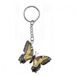Porte-Clés Papillon en Bois