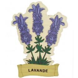 Magnet Bois Lavande