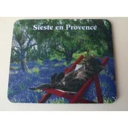 Tapis de Souris Sieste en Provence