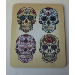 Tapis de Souris Jour des Morts Mexicains