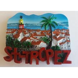 Magnet Résine St Tropez