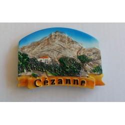 Magnet Résine Cézanne