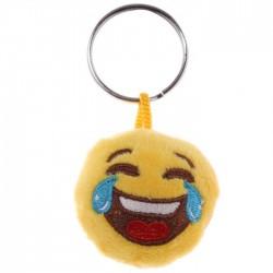 Porte-clés Moelleux Smiley Mort de Rire avec Son