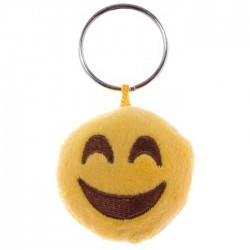 Porte-clés Moelleux Smiley Sourire avec Son