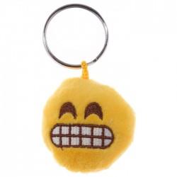Porte-clés Moelleux Smiley Enervé Grrrr avec Son