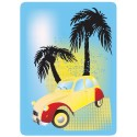 Sticker Cleaner 2 CV Palmiers