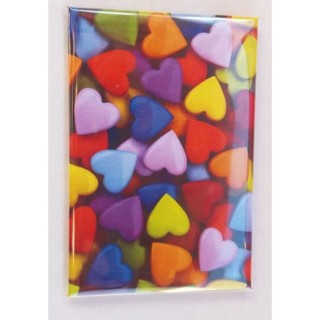 Magnet Smarties en Coeur