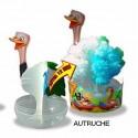 Oeuf Magique Autruche - Zoo Papier Magique