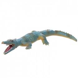 Jouet Crocodile Bleu Compressible