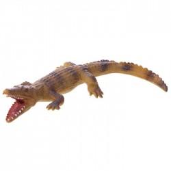 Jouet Crocodile Marron Compressible