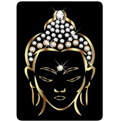 Sticker Cleaner Bouddha Gold