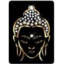 Sticker Cleaner Bouddha Gold