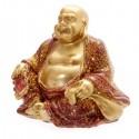 Mini Bouddha Pailleté Bordeaux