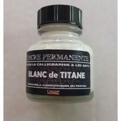 Encre Permanente BLANC DE TITANE - 30 ML
