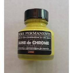 Encre Permanente JAUNE DE CHROME - 30 ML
