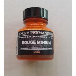 Encre Permanente ROUGE MINIUM - 30 ML