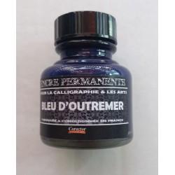 Encre Permanente BLEU D'OUTREMER - 30 ML