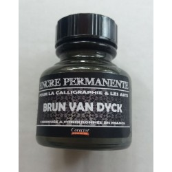 Encre Permanente BRUN VAN DYCK - 30 ML