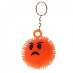 Porte-Clés Anti-Stress Lumineux Smiley Emoti Colère