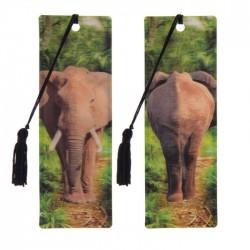 Marque Page 3D  Eléphant