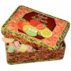 Bonbons Salade de Fruits Boîte Fer