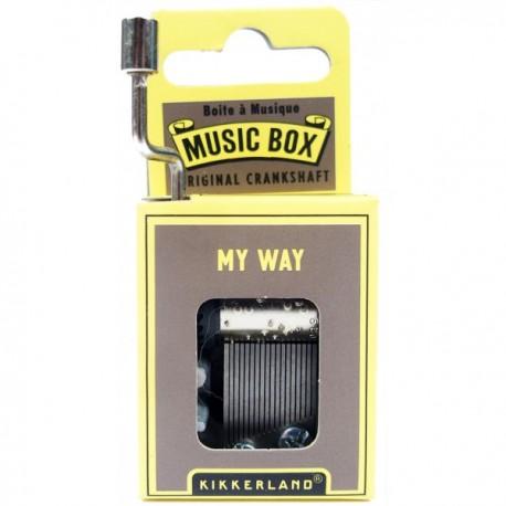 """Boîte à Musique """"My Way"""""""