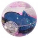 Balle Rebondissante Lumineuse Poisson Ange (Violet)