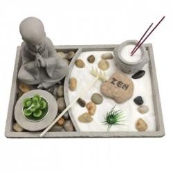 Jardin Zen Bouddha - Forme Carrée