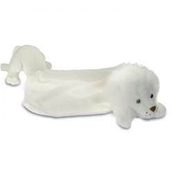 Doudou Peluche Lion Blanc