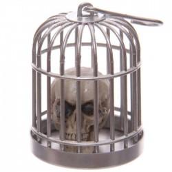 Tête de Mort Crâne en Cage (Souris Oeil)