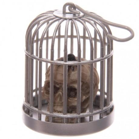 Tête de Mort Crâne en Cage (Scorpion Tête)