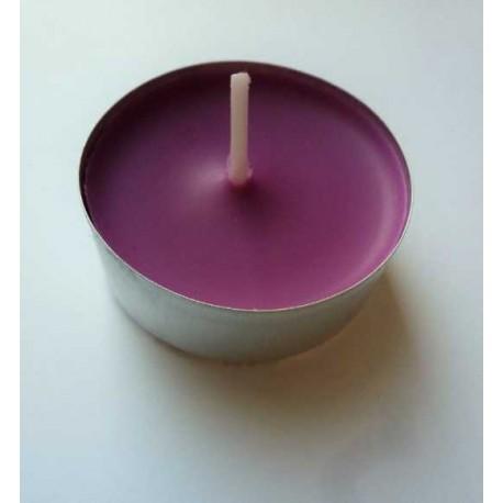 Bougie chauffe-plat parfumée mauve