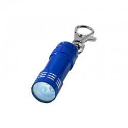 Porte-clés lampe torche à Leds (bleu)