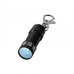 Porte-clés lampe torche à Leds (noir)